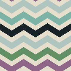 Easter Chevron Removable Wallpaper