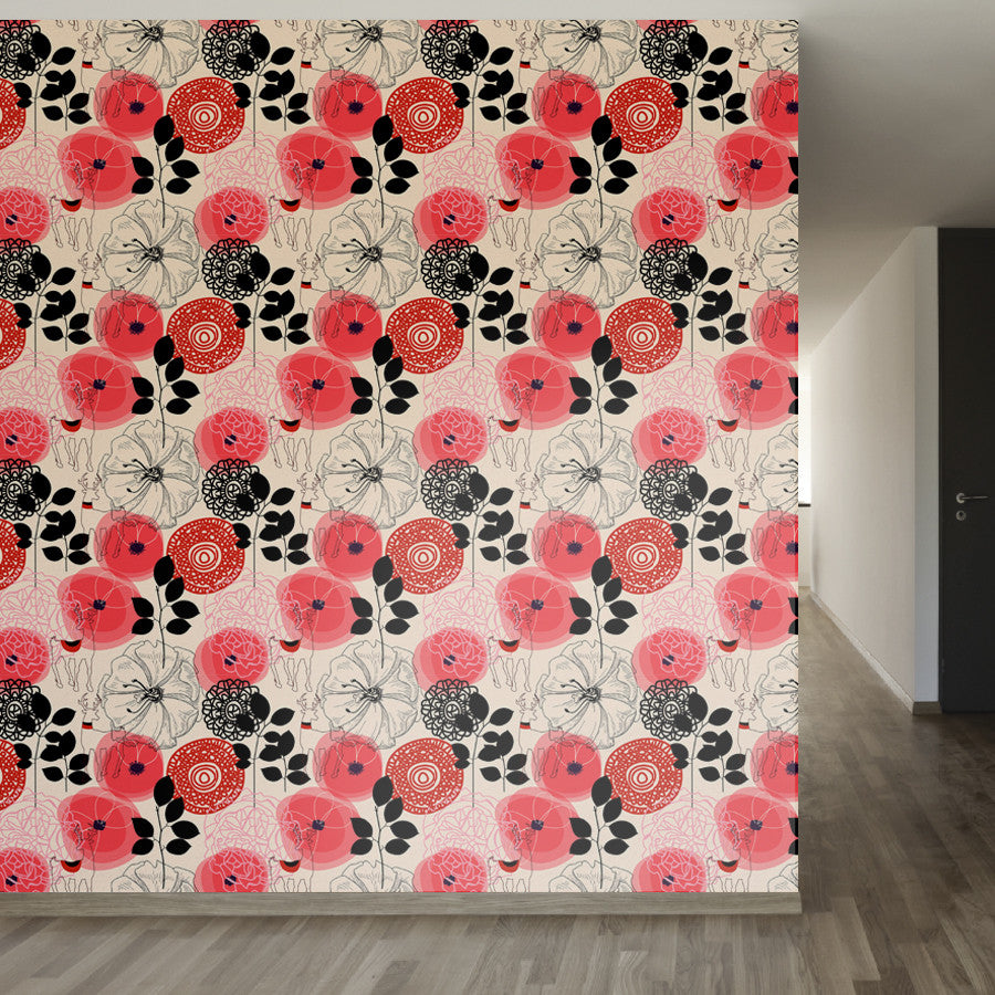 Oriental Outdoor Removable Peel And Stick Wallpaper