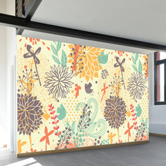 Fantastically Floral Wall Mural