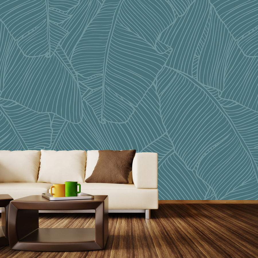 The Palms Wall Mural by Walls Need Loveᄄ