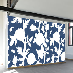 Floral Vignette Wall Mural