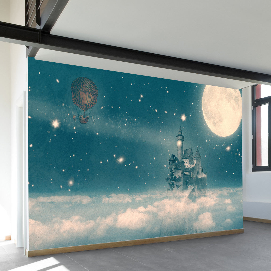 The Way Home Wall Mural by Walls Need Loveᄄ