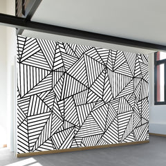 Ab Lines Wall Mural