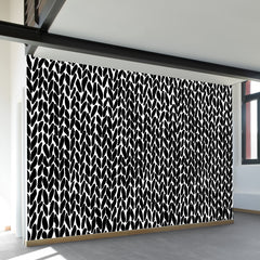 Hand Knit Wall Mural