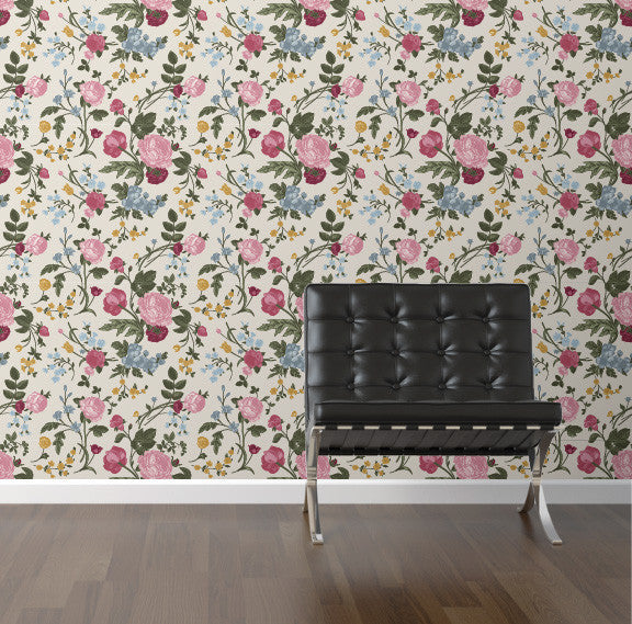 Spring Bouquet Removable wallpaper wall decale