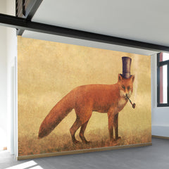 Crazy Like a Fox Wall Mural