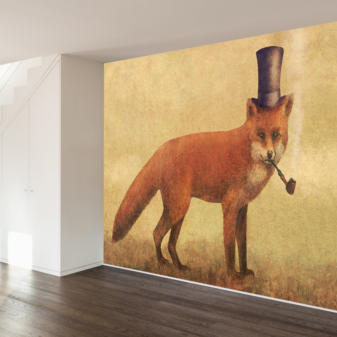 Crazy Like a Fox Wall Mural image