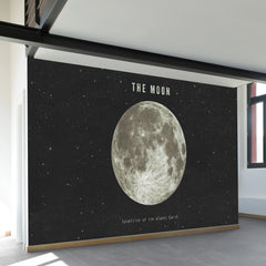 The Earth's Moon Wall Mural