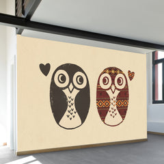 Opposites Attract Wall Mural