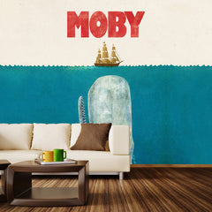 Moby Wall Mural