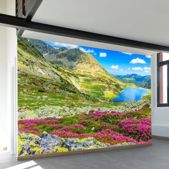Glacier Lake Wall Mural