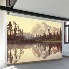 Picture Lake Wall Mural