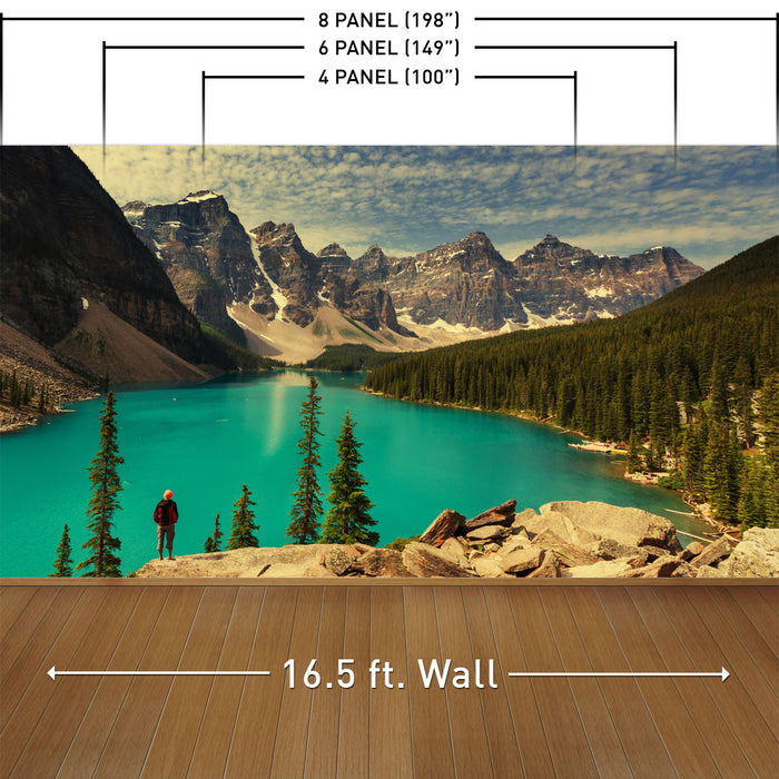 Canadian Wilderness Wall Mural