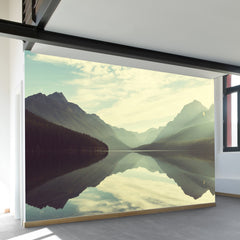 Glistening Bowman Lake Wall Mural