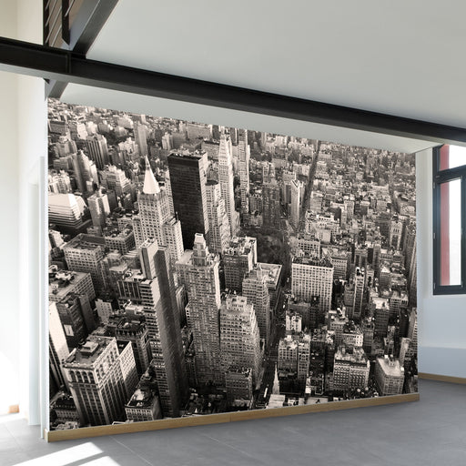 Flatiron City From Above Wall Mural