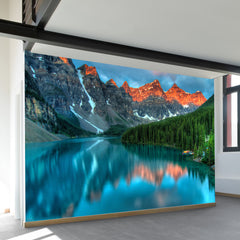 Morningside at Moraine Lake Wall Mural