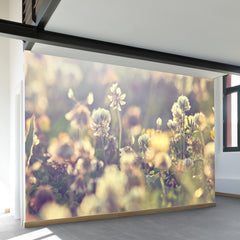 Field Of Wildflowers Wall Mural