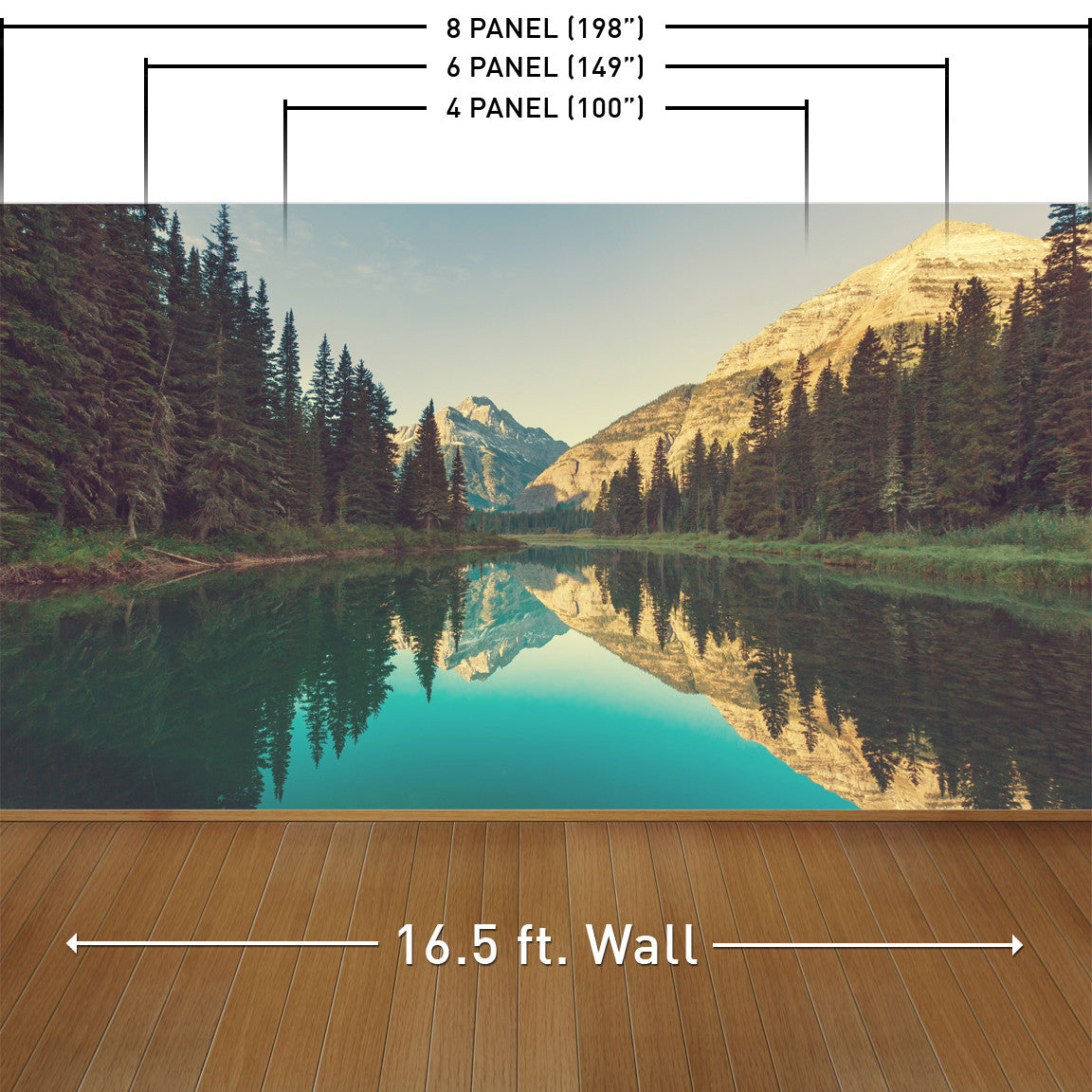 Wilderness Calm Wall Mural
