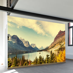 Autumn in Glacier National Park Wall Mural