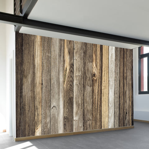 Wood Wall Mural barn wood | wall mural | wallsneedlove