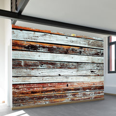 Weathered Siding Wall Mural