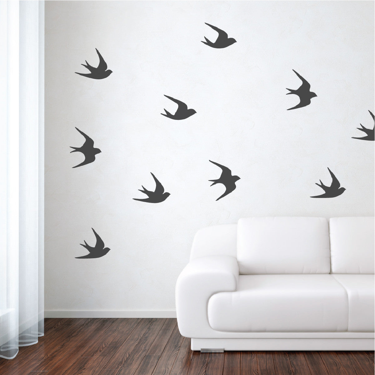 sparrows wall decals - Design Wall Decal
