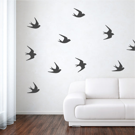 Sparrows Wall Decals
