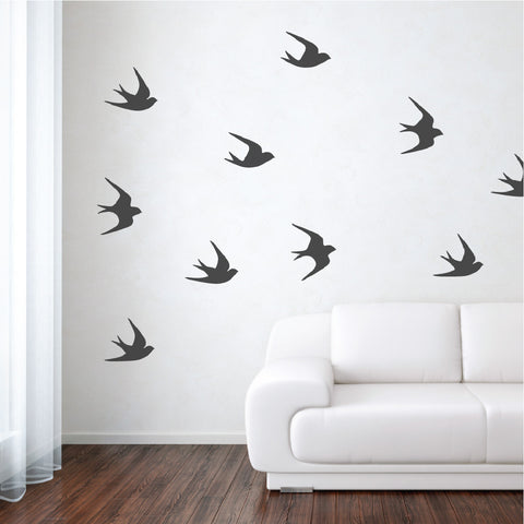 sparrows wall decals - Wall Design Decals