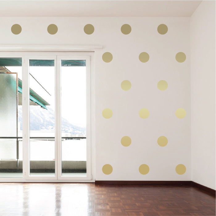 Polka Dot Wall Decals | lifestyle