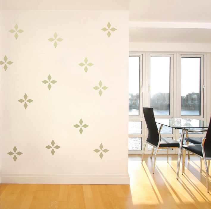Diamond Mini-Pack Wall Decals | lifestyle