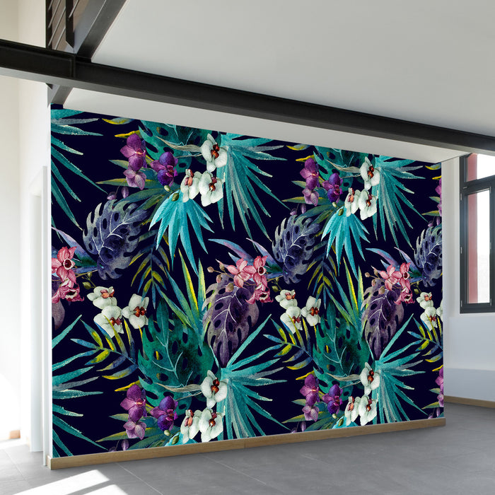 Hawaiian Shirt Wall Mural by Walls Need Loveᄄ