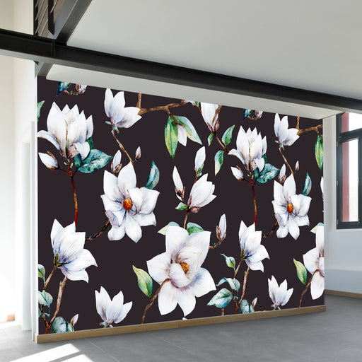 Vintage Magnolia Wall Mural by Walls Need Love?