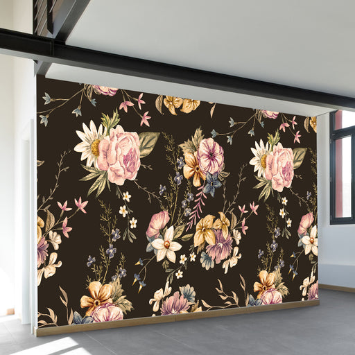 Victorian Flora Wall Mural by Walls Need Loveᄄ