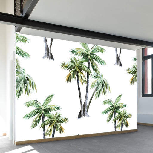 Tropical Palms Wall Mural by Walls Need Love?