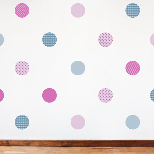 Nursery Mount wall decals - Pattern Dots on wall!!