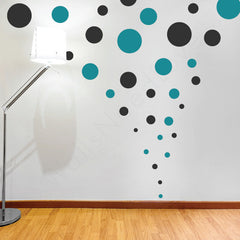 Assorted Polka Dots wall decal | Design Packs | lifestyle