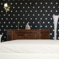 Coronata Stars wall decal on wall | lifestyle