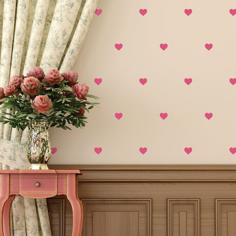 Heart Mini-Pack Wall Decals | lifestyle