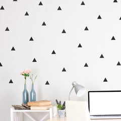 Triangle Mini-Pack Wall Decals | lifestyle