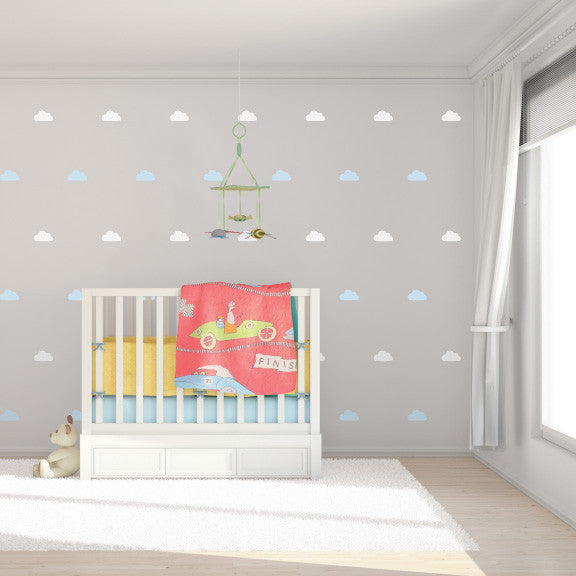 Lil' Dreamy Clouds Mini-Pack Wall Decals | lifestyle