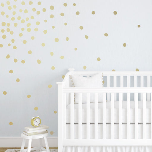 Lil' Perfectly Imperfect Dots Mini-Pack Wall Decals | lifestyle