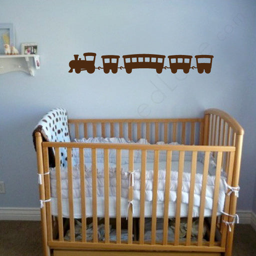 Nursery wall decal - Choo Choo Train Mount wall decal | Kids & Nursery