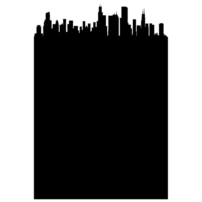 Chicago Chalkboard Skyline wall decal | Writables