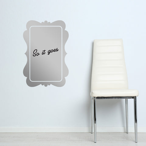 Dry Erase Rectangle Silver Frame