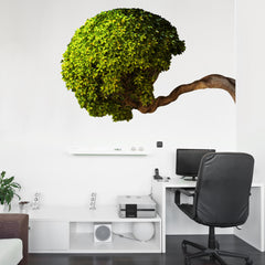 Bowing Tree Wall Mount Decal on wall!!