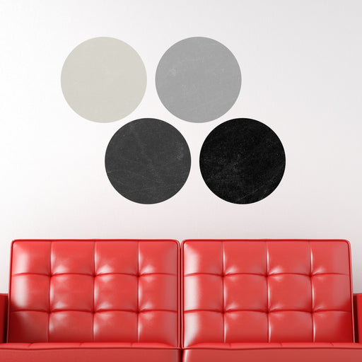 Simple Circles Chalkboard 1 Writable wall decale