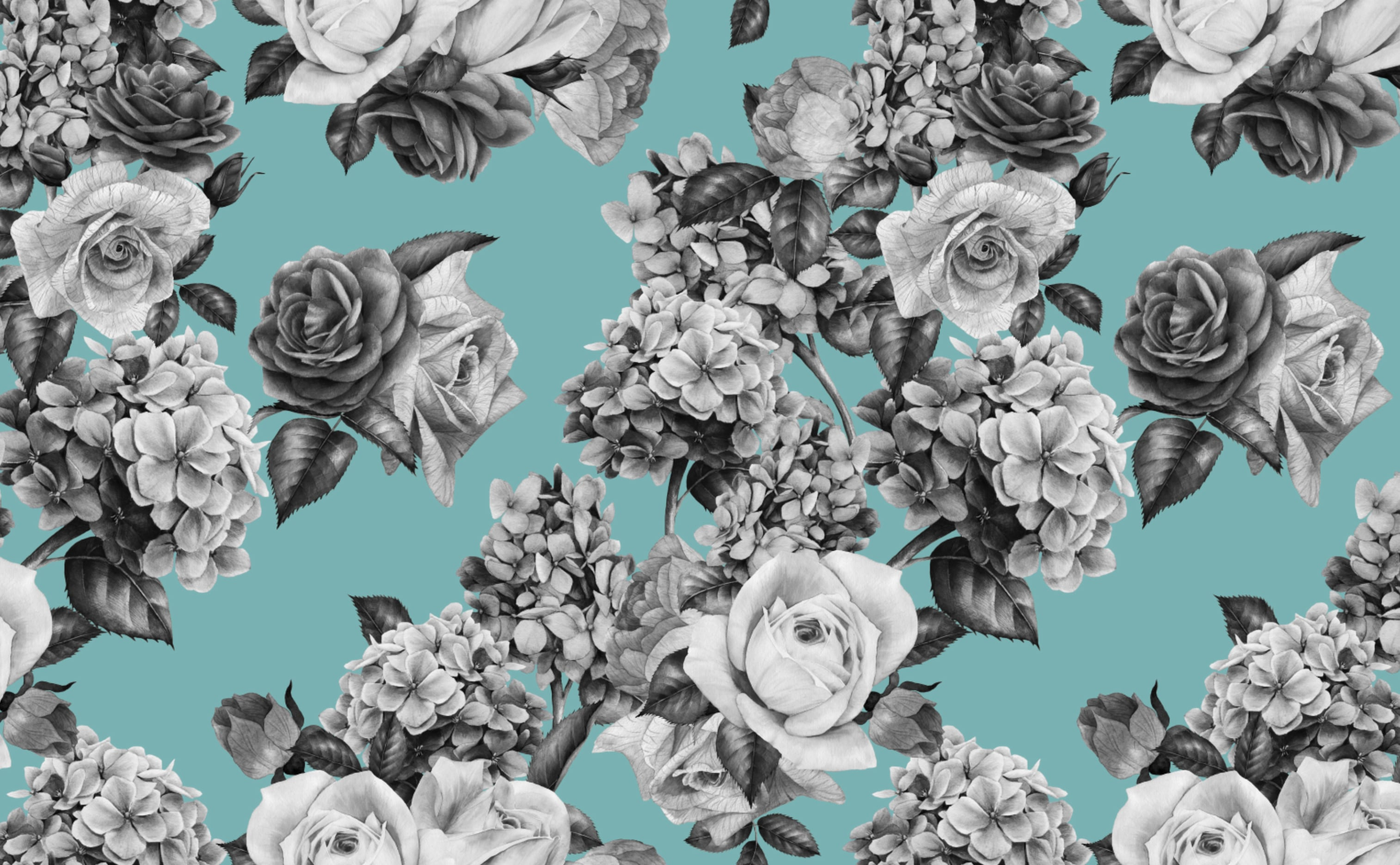 Floral Removable Wallpaper For A Fun Cheerful Interior