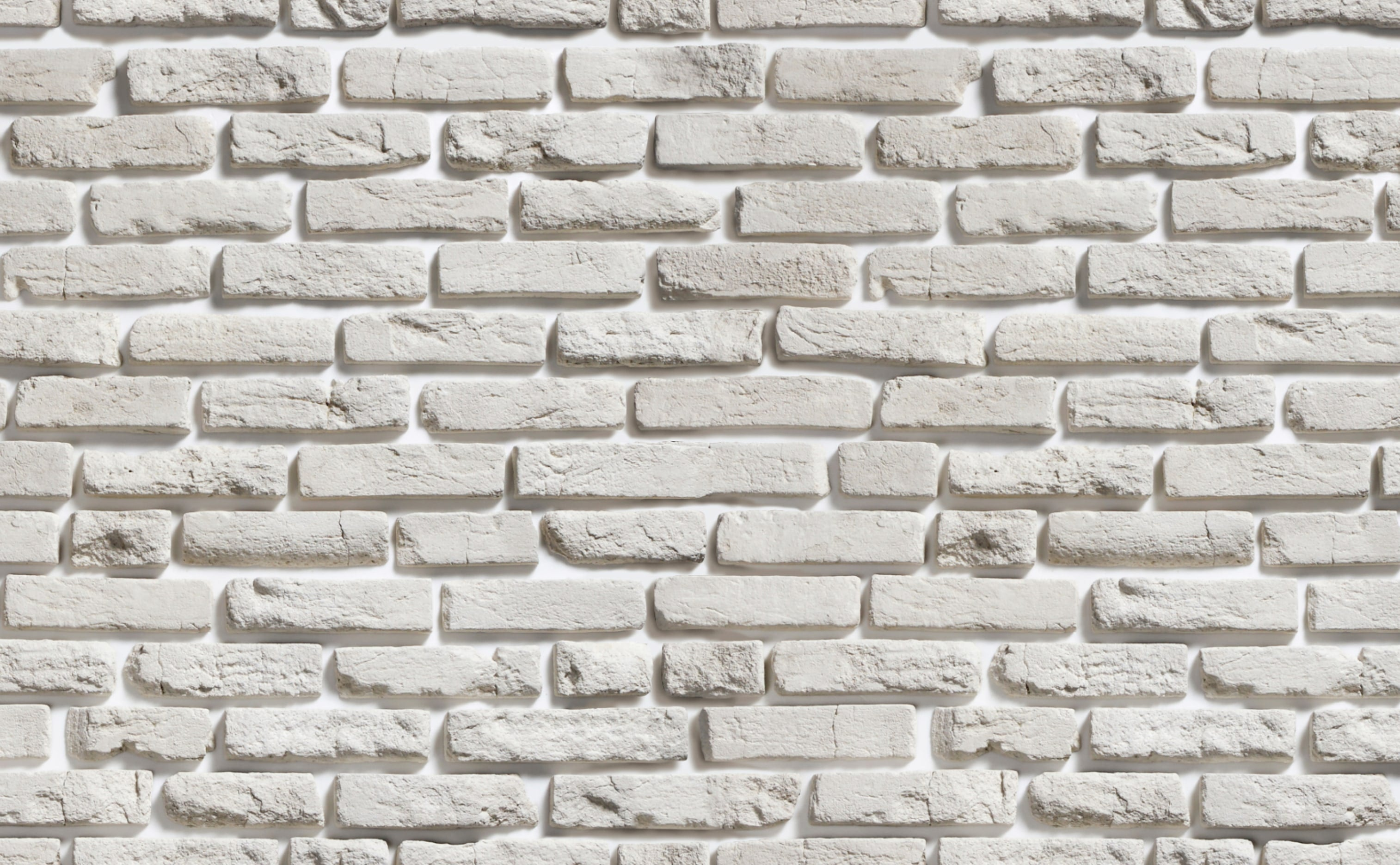 w0166 1s Aged Brick Wallpaper for Walls White Brick Repeating Pattern Sample 1