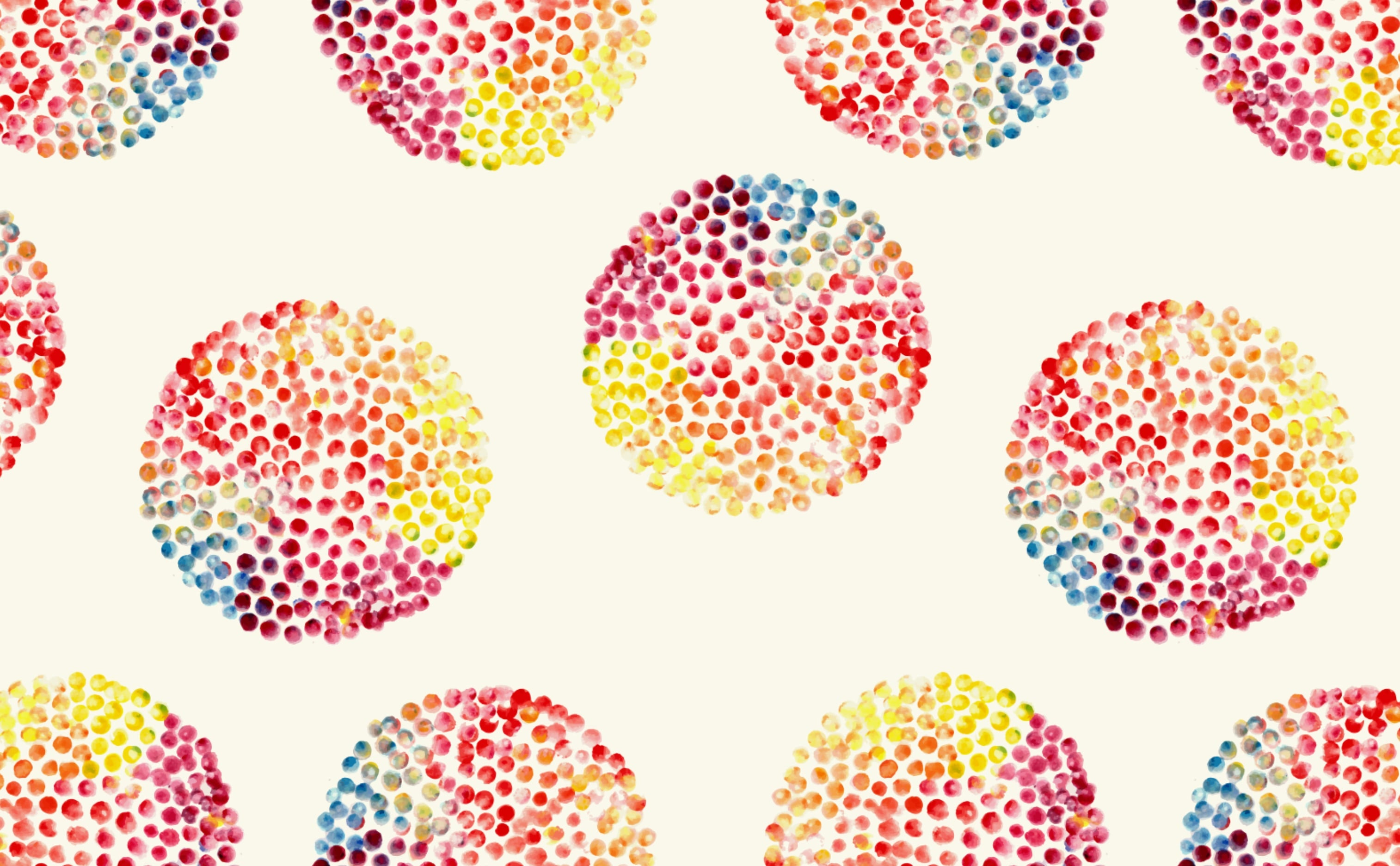 w0176 1s A Taste of the Rainbow Designer Wallpaper Repeating Pattern Sample 1