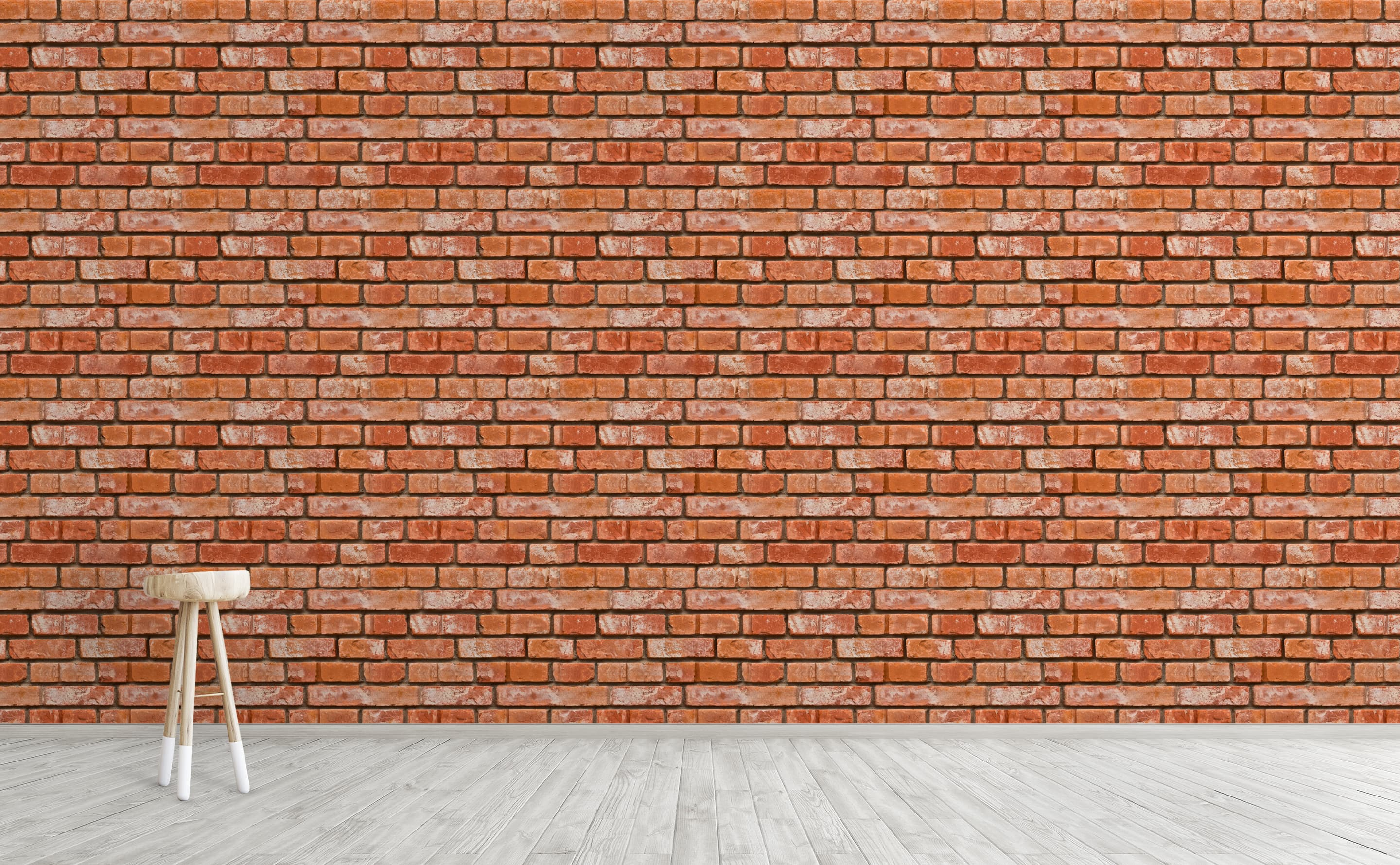 w0267 1s Realistic Bricks Removable Peel and Stick Wallpaper For Interior Walls 11